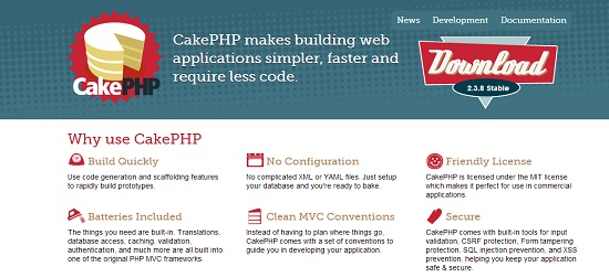 6 cakePHP